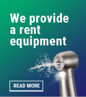 We provide a rent equipment