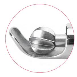 Spinal carbide burr, 3 mm