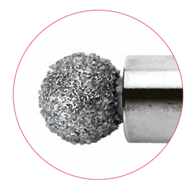 Spinal diamond burr, 3.7 mm