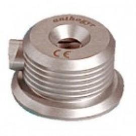 Stainless steel needle recapper